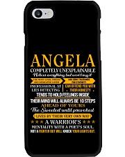 Angela - Completely Unexplainable Phone Case thumbnail