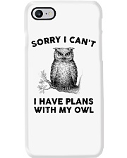 I have plans with owl Phone Case tile