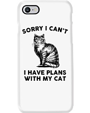 I have plans with cat Phone Case thumbnail