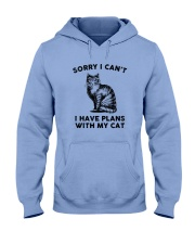 I have plans with cat Hooded Sweatshirt thumbnail