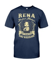 PRINCESS AND WARRIOR - Rena Classic T-Shirt thumbnail