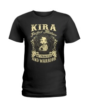 PRINCESS AND WARRIOR - Kira Ladies T-Shirt front
