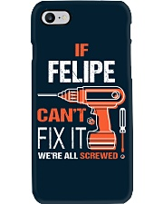 If Felipe Cant Fix It - We Are All Screwed Phone Case thumbnail