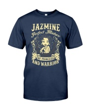 PRINCESS AND WARRIOR - Jazmine Classic T-Shirt thumbnail