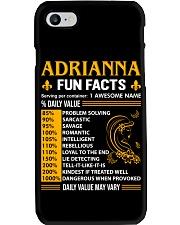 Adrianna Fun Facts Phone Case thumbnail