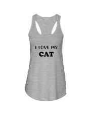 I LOVE MY CAT Ladies Flowy Tank thumbnail