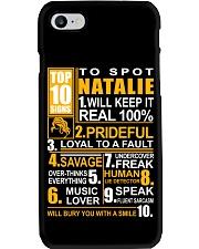 Natalie - top10 Phone Case thumbnail