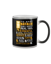 Natalie - top10 Color Changing Mug thumbnail