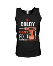 If Colby Cant Fix It - We Are All Screwed Unisex Tank thumbnail