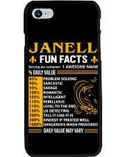 Janell Fun Facts Phone Case thumbnail