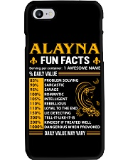 Alayna Fun Facts Phone Case thumbnail
