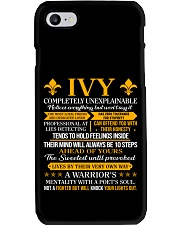 Ivy - Completely Unexplainable Phone Case thumbnail