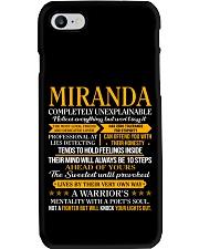 Miranda - Completely Unexplainable PX32 Phone Case thumbnail