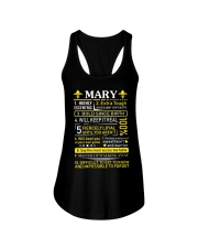 Mary - Sweet Heart And Warrior Ladies Flowy Tank thumbnail