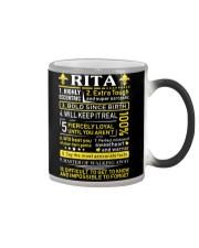 Rita - Sweet Heart And Warrior Color Changing Mug thumbnail