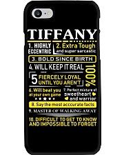 Tiffany - Sweet Heart And Warrior Phone Case thumbnail