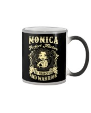 PRINCESS AND WARRIOR - Monica Color Changing Mug thumbnail