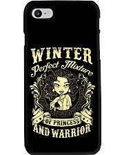 PRINCESS AND WARRIOR - Winter Phone Case thumbnail
