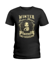 PRINCESS AND WARRIOR - Winter Ladies T-Shirt front