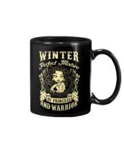 PRINCESS AND WARRIOR - Winter Mug thumbnail