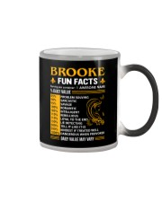 Brooke Fun Facts Color Changing Mug thumbnail