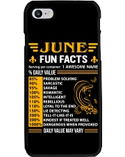 June Fun Facts Phone Case thumbnail