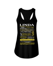 Linda - Sweet Heart And Warrior Ladies Flowy Tank thumbnail