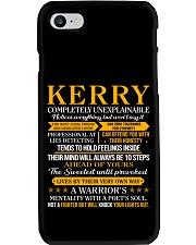 Kerry - Completely Unexplainable Phone Case thumbnail