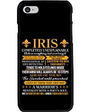 Iris - Completely Unexplainable Phone Case thumbnail