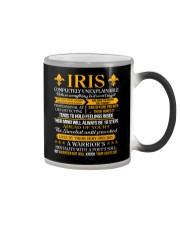 Iris - Completely Unexplainable Color Changing Mug thumbnail