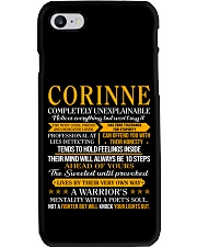 Corinne - Completely Unexplainable Phone Case thumbnail