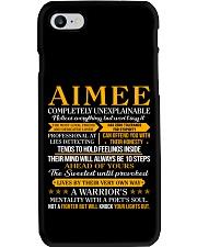 Aimee - Completely Unexplainable Phone Case thumbnail