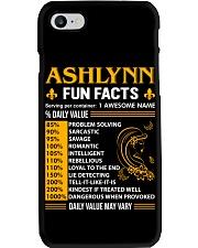 Ashlynn Fun Facts Phone Case thumbnail