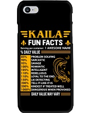 Kaila Fun Facts Phone Case thumbnail