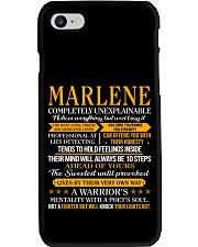 Marlene - Completely Unexplainable Phone Case thumbnail