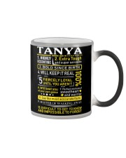 Tanya - Sweet Heart And Warrior Color Changing Mug thumbnail