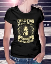 PRINCESS AND WARRIOR - Christian Ladies T-Shirt lifestyle-women-crewneck-front-7