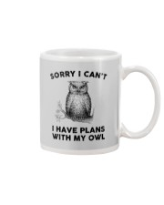 I have plans with owl Mug thumbnail
