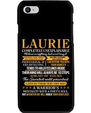 Laurie - Completely Unexplainable Phone Case thumbnail
