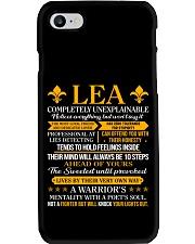 Lea - Completely Unexplainable Phone Case thumbnail