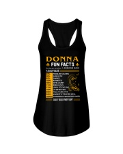 Donna Fun Facts Ladies Flowy Tank thumbnail