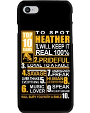 Heather - top10 Phone Case thumbnail