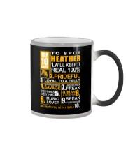 Heather - top10 Color Changing Mug thumbnail