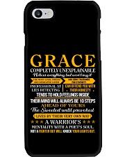Grace - Completely Unexplainable Phone Case thumbnail