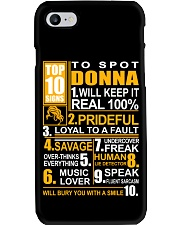 Donna - top10 Phone Case thumbnail