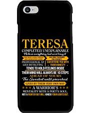 Teresa - Completely Unexplainable Phone Case thumbnail