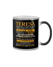 Teresa - Completely Unexplainable Color Changing Mug thumbnail