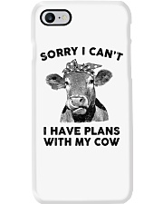I have plans with cow Phone Case thumbnail