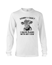 I have plans with cow Long Sleeve Tee thumbnail