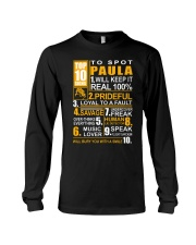 Paula - top10 Long Sleeve Tee thumbnail